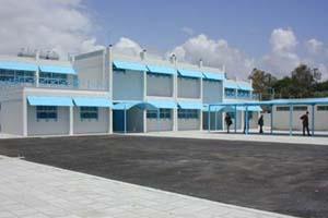 The newly-built Al-Aqsa Secondary School in Rashidieh camp, south Lebanon. (Photo: UNRWA)