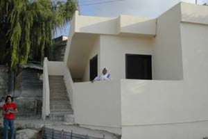 A shelter after rehabilitation in Mieh Mieh camp. (Photo: UNRWA)